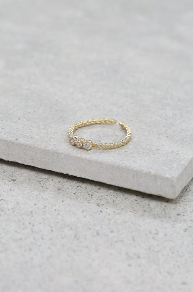 THE JAMIE RING IN GOLD