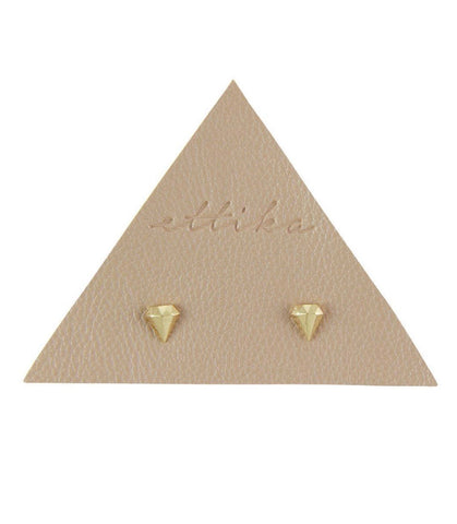 LUCKY DIAMOND STUD EARRINGS