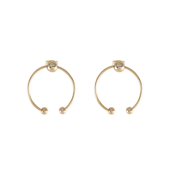 RING IN GOLD EARRINGS