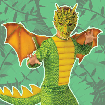 Deluxe Dragon child costume