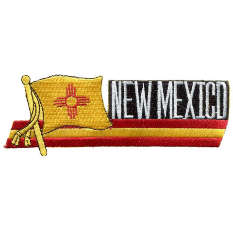 "New Mexico Patch - Albuquerque, Santa Fe, Southwest, NM Badge 4.75"" (Iron on)"