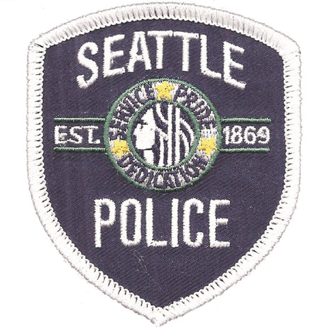 Seattle Police Department Patch - Washington (Iron on)