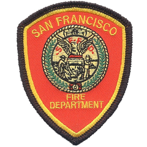 San Francisco Fire Department Patch - California (Iron on)