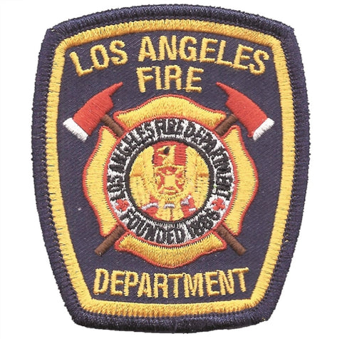 Los Angeles Fire Department Patch - California (Iron on)