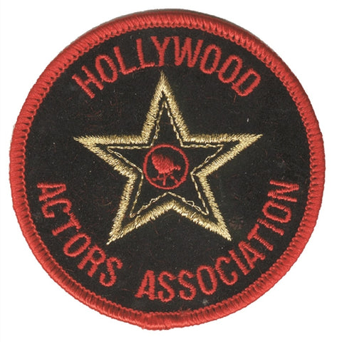Hollywood Actors Association Patch - California (Iron on)