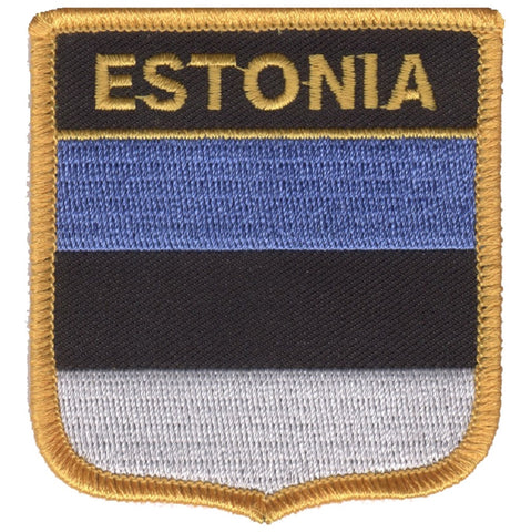 "Estonia Patch - Baltic Sea, Northern Europe, Gulf of Finland 2.75"" (Iron on)"