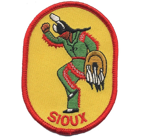 "Sioux Patch - Native American ""Indian"" (Iron On)"