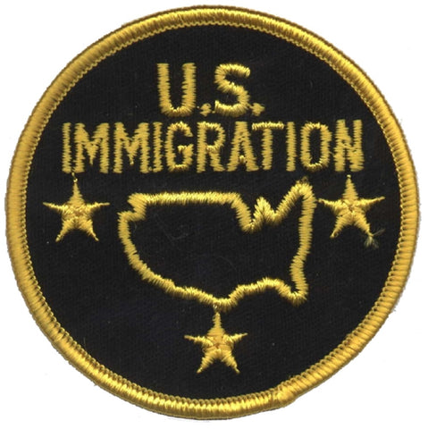 U.S. Immigration Patch - Novelty Badge (Iron on)