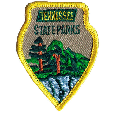 Vintage Tennessee State Parks Patch - Appalachian Mountains (Sew on)