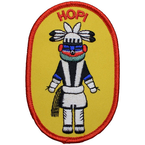 "Hopi Patch - Arizona Native American Tribe, Colorado River 3.75"" (Iron on)"