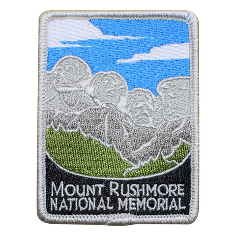 "Mount Rushmore Patch - Black Hills, Keystone, South Dakota 3"" (Iron on)"