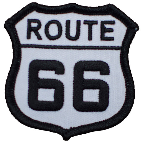 "Route 66 Patch 2.5"" (Iron on)"