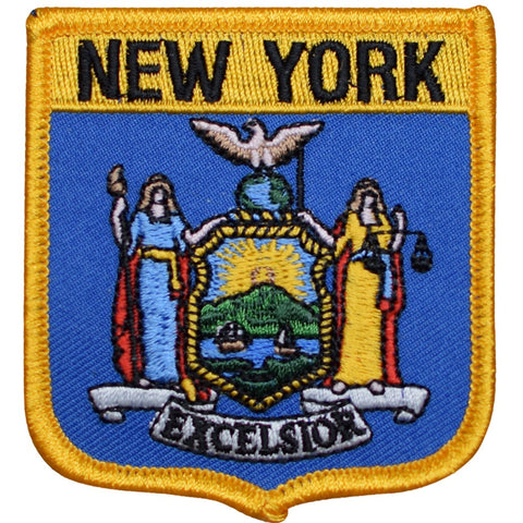 "New York Patch - Manhattan, Bronx, Harlem, Brooklyn, Queens 2.75"" (Iron on)"