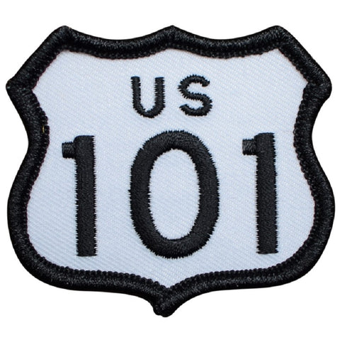"Highway 101 Patch - California, Oregon, Washington Badge 2-3/8"" (Iron on)"