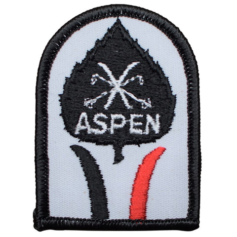 "Vintage Aspen Patch - Colorado, Snowboard, Ski, CO Snow Badge 2.75"" (Sew on)"