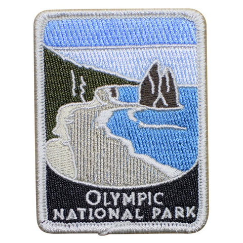 "Olympic National Park Patch - La Push Beach, Washington Badge 3"" (Iron on)"