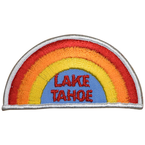 Lake Tahoe Patch - Rainbow (Iron On)