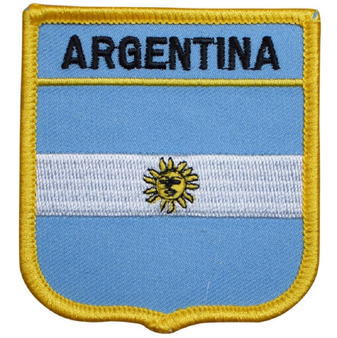 "Argentina Patch - South America, Argentina Republic 2.75"" (Iron on)"