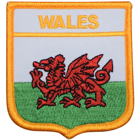 Wales Patch (Iron On)