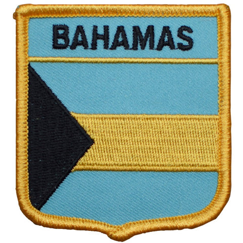 "Bahamas Patch - West Indies Archipelago Badge 2.75"" (Iron on)"