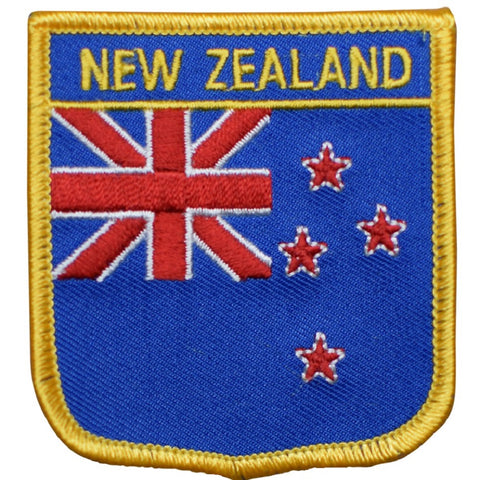"New Zealand Patch - Tasman Sea, Wellington, Auckland 2.75"" (Iron on)"