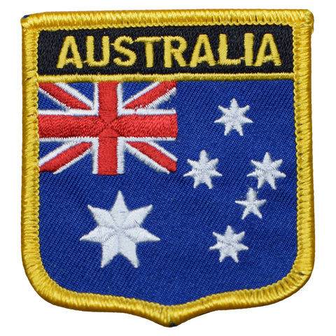 "Australia Patch - Australian Flag Badge, Tasmania, Sydney, Perth 2.75"" (Iron on)"