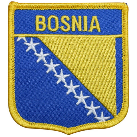 "Bosnia Patch - Herzegovina, Balkan Peninsula, SE Europe Badge 2.75"" (Iron on)"