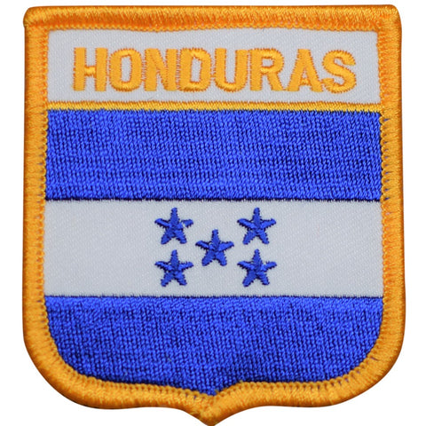 "Honduras Patch - Central America, Caribbean, Tegucigalpa 2.75"" (Iron on)"