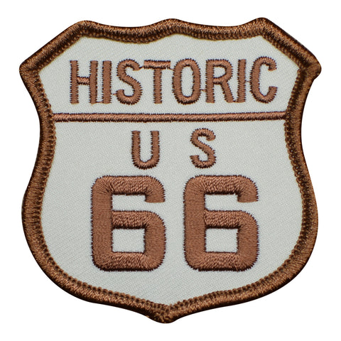 Historic Route 66 Patch (Iron On)