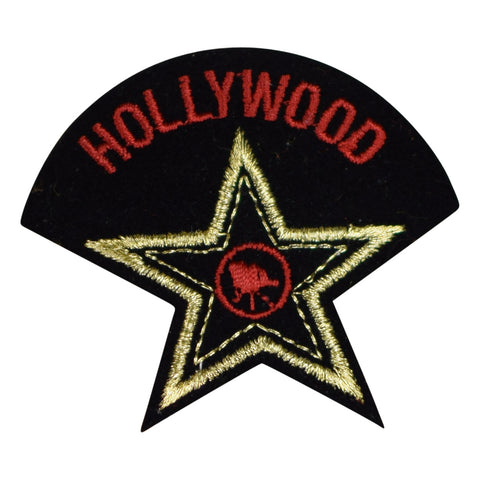 Hollywood California Patch - Los Angeles Star (Iron on)