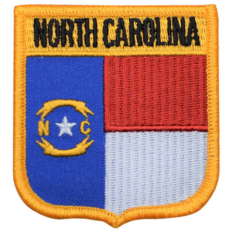 "North Carolina Patch - Raleigh, Charlotte, Outer Banks 2.75"" (Iron on)"
