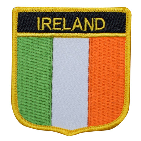 "Ireland Patch - Belfast, Dublin, United Kingdom Badge 2.75"" (Iron on)"