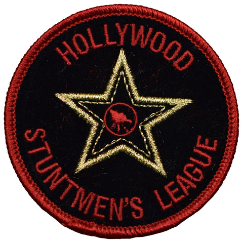 "Hollywood Patch - Stuntmen's League, California, Los Angeles 3"" (Iron on)"