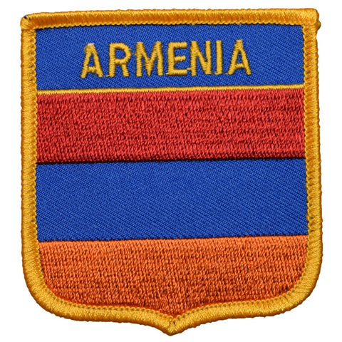 "Armenia Patch - South Caucasus Badge 2.75"" (Iron on)"