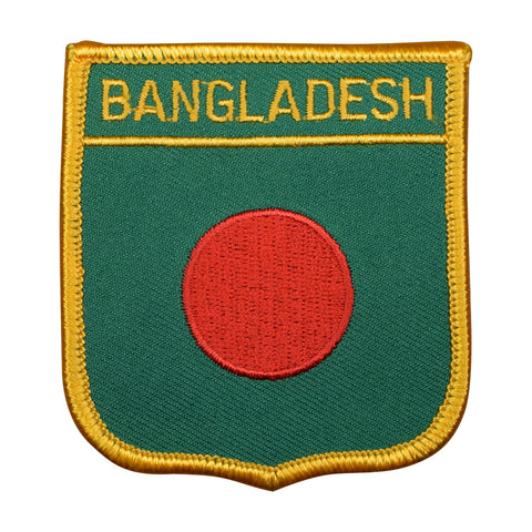 "Bangladesh Patch - South Asia, People's Republic of Bangladesh Badge 2.75"" (Iron on)"