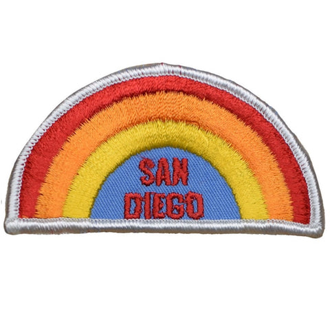 "Vintage San Diego California Patch - Rainbow, CA Badge 3-5/8"" (Sew on)"