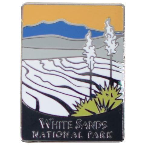 White Sands National Park Pin - Official Traveler Series, New Mexico, NM
