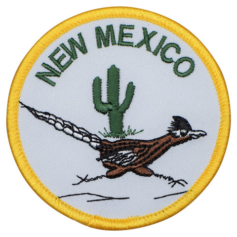 "New Mexico Patch - Albuquerque, Santa Fe, Southwest, NM Badge 3"" (Iron on)"