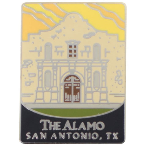 The Alamo Pin -  San Antonio, Texas, TX, Mission San Antonio de Valero - Official Traveler Series