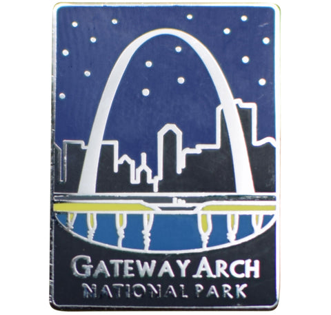 Gateway Arch National Park Pin - Official Traveler Series - St. Louis, Missouri