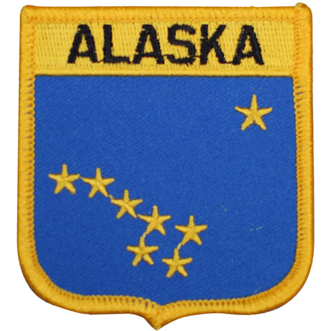 "Alaska Patch - Juneau, Anchorage, AK Badge 2.75"" (Iron on)"