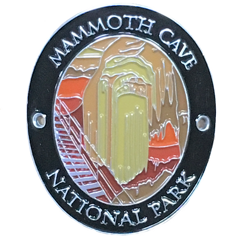 Mammoth Cave National Park Walking Stick Medallion - Kentucky - Official Traveler Series
