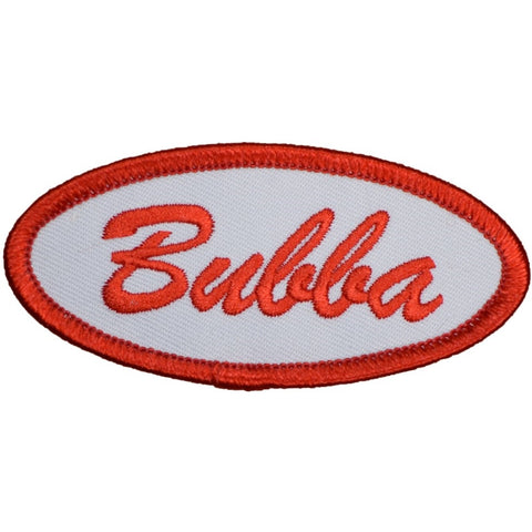"Bubba Patch - Mechanic, Janitor, Service, Operator Badge 3"" (Iron On)"