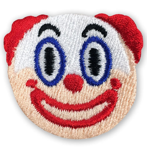 Clown Emoji Applique Patch (Iron on)