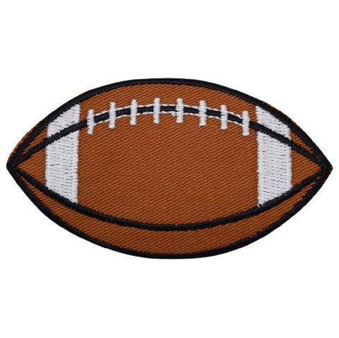 "Football Applique Patch - Sports Badge 3.5"" (Iron on)"