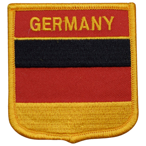 "Germany Patch - Berlin, Frankfurt, Hamburg, Munich Badge 2.75"" (Iron on)"