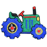 "Tractor Applique Patch - Farm Equipment, Farmer Badge 2"" (Iron on)"