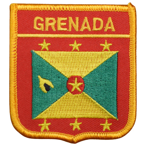 "Grenada Patch - West Indies, Caribbean Sea, Grenadines Islands 2.75"" (Iron on)"