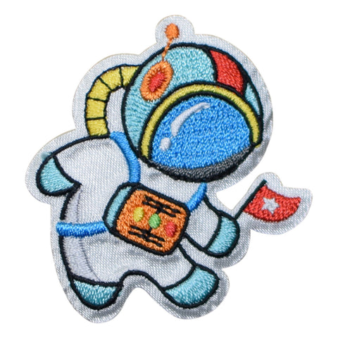 Astronaut in Space Applique Patch (Iron on)