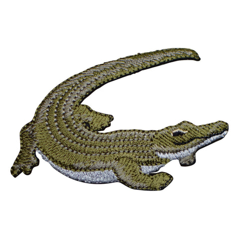 Crocodile or Alligator Applique Patch (Iron on)